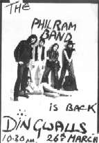 Phil Ram Band poster